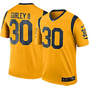 Nike Men's Color Rush Los Angeles Rams Todd Gurley #30 Legend Game Jersey