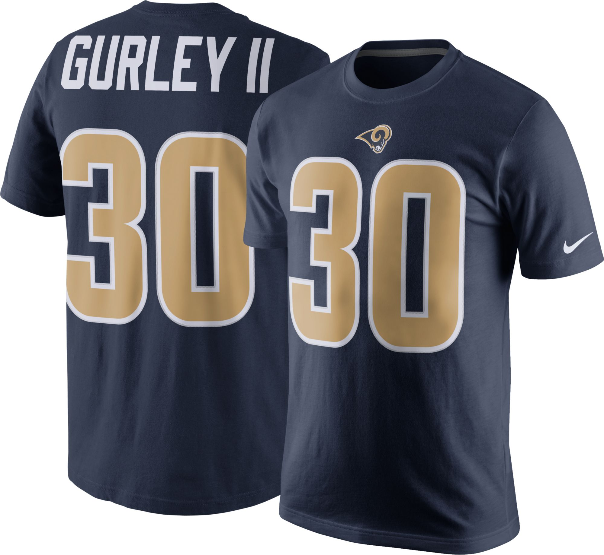 a54a0ab5c ... wholesale nike mens los angeles rams todd gurley 30 pride navy t shirt  136f7 21232