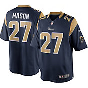 Nike Men's Home Limited Jersey Los Angeles Rams Tre Mason #27