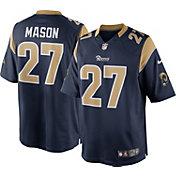 Nike Men's Home Limited Jersey Los Angeles Rams Tre Mason #27