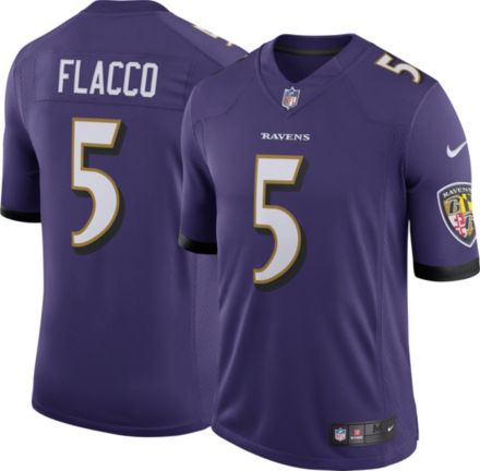870e1f38c Nike Men  39 s Home Limited Jersey Baltimore Ravens Joe Flacco  5