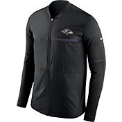 Nike Men's Baltimore Ravens Sideline 2017 Shield Hybrid Black Jacket