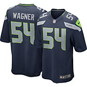 Nike Men's Seattle Seahawks Bobby Wagner #54 Navy Game Jersey