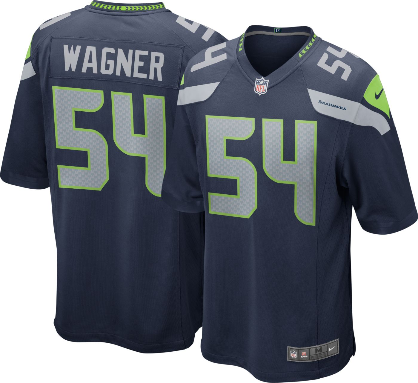 Nike Men's Home Game Jersey Seattle Seahawks Bobby Wagner #54