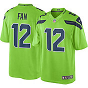 Nike Men's Color Rush Limited Jersey Seattle Seahawks Fan #12