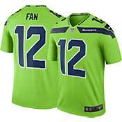 Nike Men's Color Rush Seattle Seahawks Fan #12 Legend Jersey