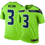 4102528e Product Image · Nike Men's Color Rush Seattle Seahawks Russell Wilson #3  Legend Jersey