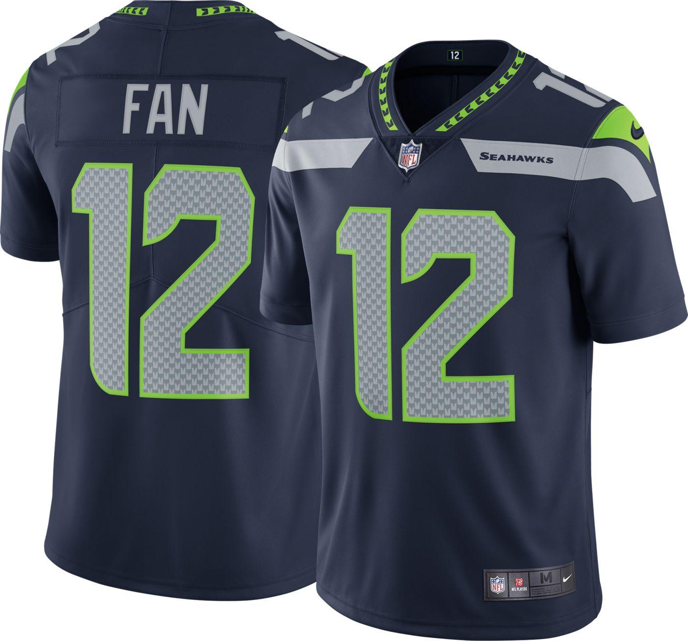Nike Men's Home Limited Jersey Seattle Seahawks Fan #12