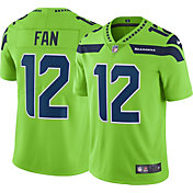 Nike Men's Color Rush Limited Jersey Seattle Seahawks 12th Fan #12