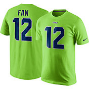 Nike Men's Seattle Seahawks Fan #12 Green T-Shirt