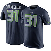 Nike Men's Seattle Seahawks Kam Chancellor #31 Pride Navy T-Shirt