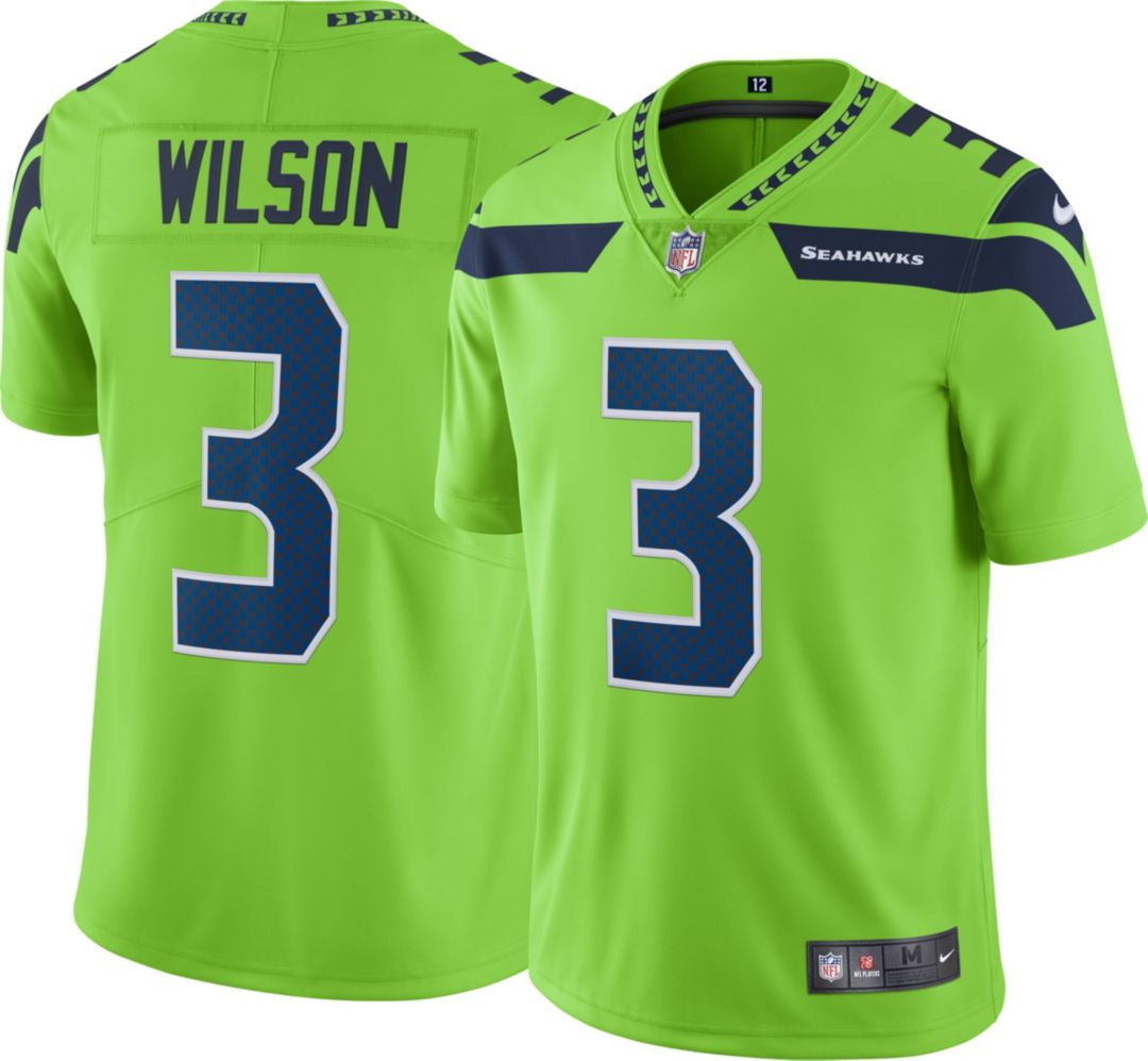 buy popular bcef8 9a091 Nike Men's Color Rush Limited Jersey Seattle Seahawks Russell Wilson #3