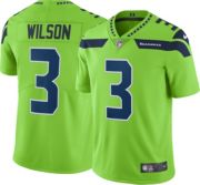 buy popular 33bcb e31cf Nike Men's Color Rush Limited Jersey Seattle Seahawks Russell Wilson #3