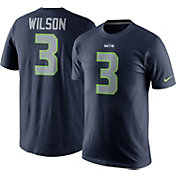 adc019563 Product Image · Nike Men s Seattle Seahawks Russell Wilson  3 Pride Navy T- Shirt
