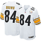 Nike Men's Away Game Jersey Pittsburgh Steelers Antonio Brown #84