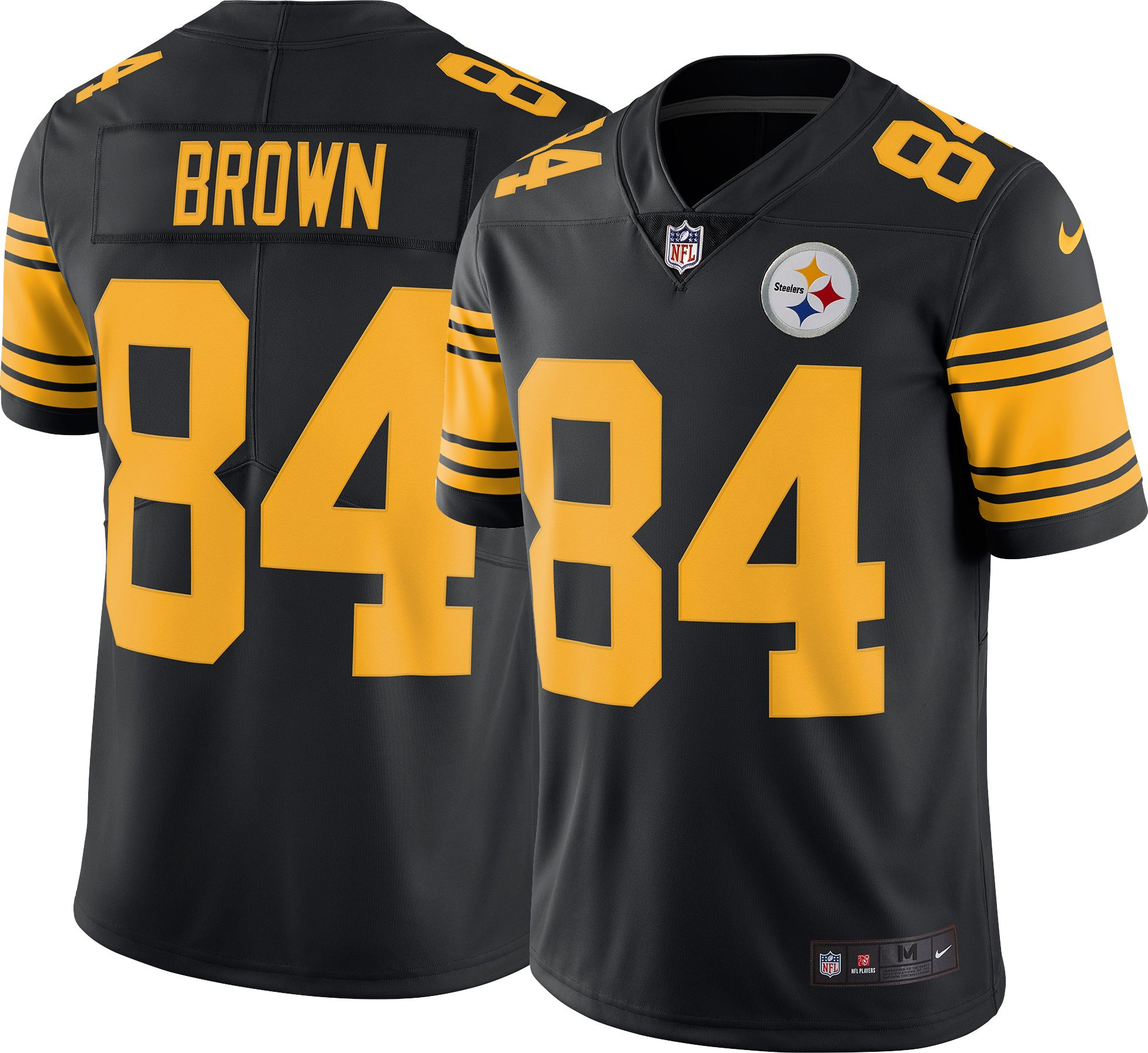 ba1f221c9c5 ... sweden nike mens color rush limited jersey pittsburgh steelers antonio  brown 84 386ad 35687