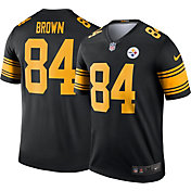Nike Men's Color Rush Pittsburgh Steelers Antonio Brown #84 Legend Jersey