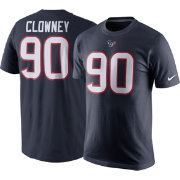 Nike Men's Houston Texans Jadeveon Clowney #90 Pride Navy T-Shirt