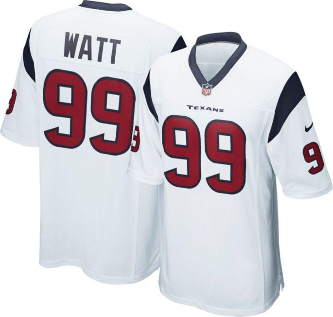 brand new c1bb7 bf9e1 Nike Men's Away Game Jersey Houston Texans J.J. Watt #99