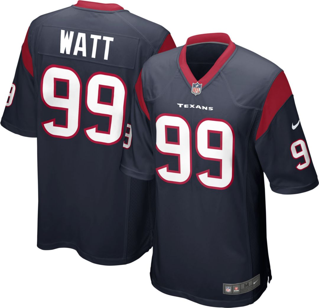 reputable site 963d3 49b83 Nike Men's Home Game Jersey Houston Texans J.J. Watt #99