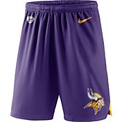 Nike Men's Minnesota Vikings Dry Knit Purple Performance Shorts