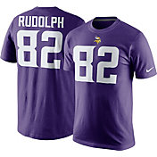 Nike Men's Minnesota Vikings Kyle Rudolph #82 Pride Purple T-Shirt