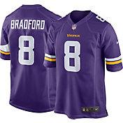 Nike Men's Home Game Jersey Minnesota Vikings Sam Bradford #8