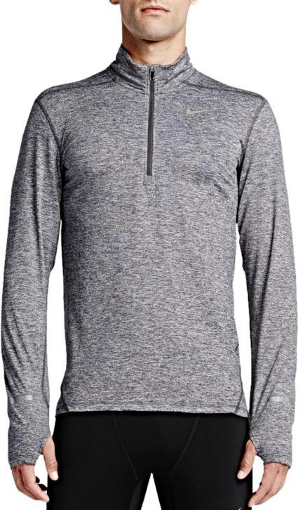 9967058aee5cc0 Nike Men s Dri-FIT Half-Zip Running Shirt