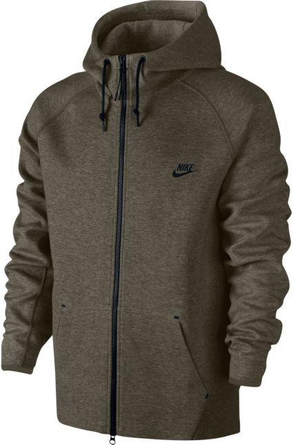 86627abce9f4 Nike Men s Tech Fleece AW77 Full Zip Hoodie