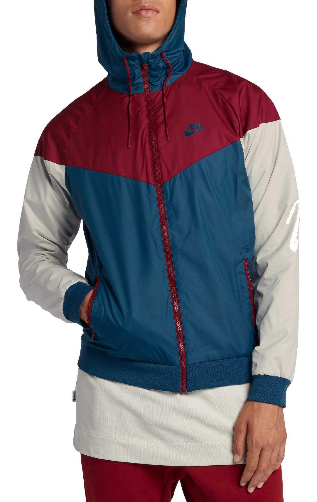 brand new f6daa 55770 Nike Men s Windrunner Full Zip Jacket 1