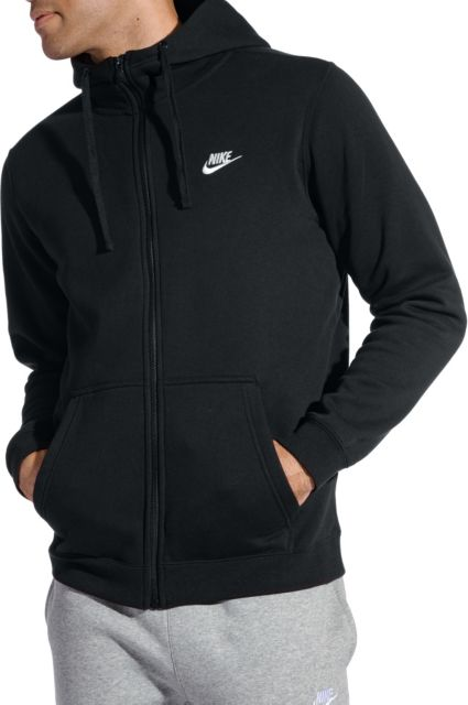 90b1bdea4690 Nike Men s Sportswear Club Fleece Full Zip Hoodie