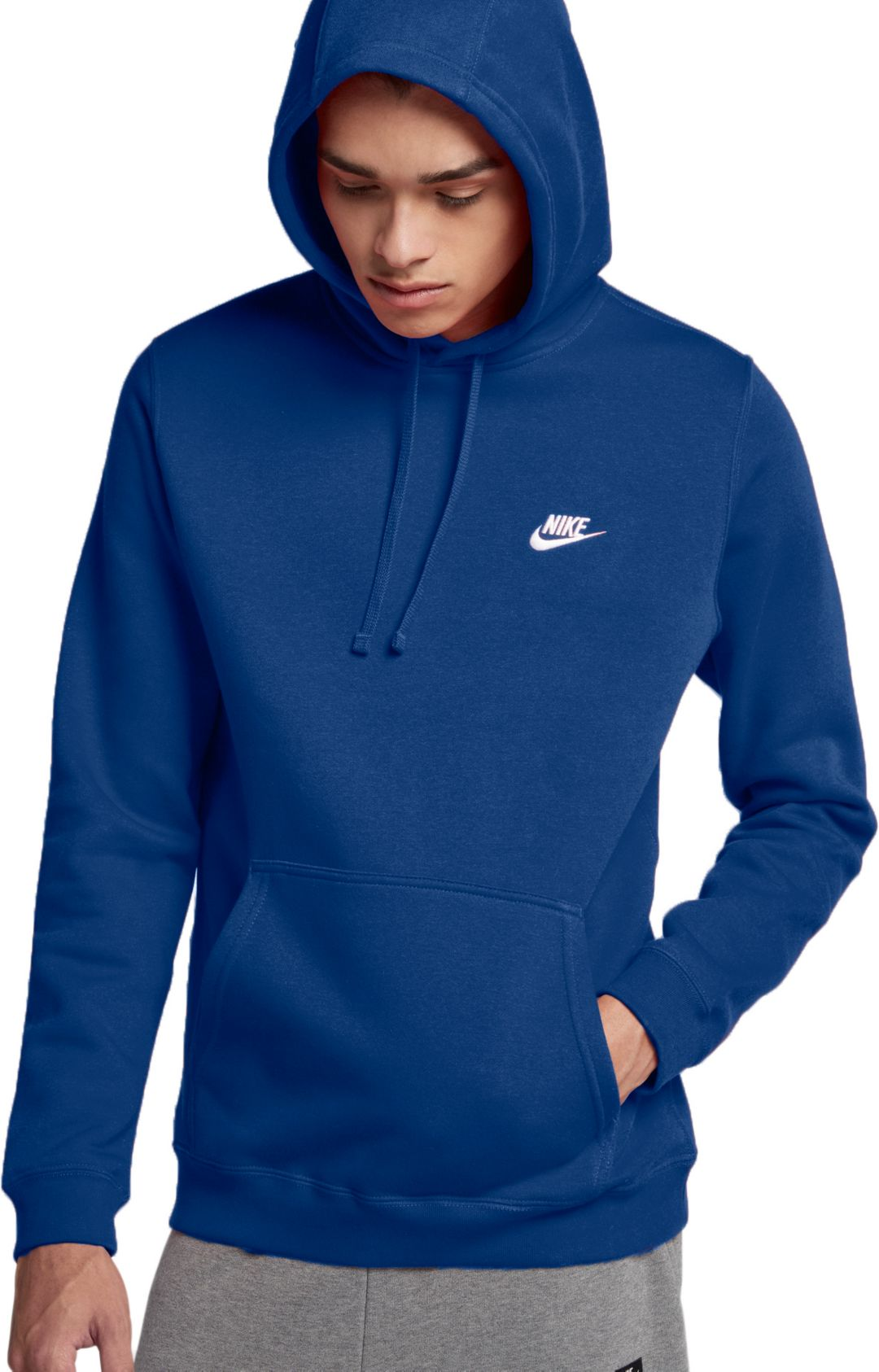 c1717c05b Nike Men's Club Fleece Pullover Hoodie | DICK'S Sporting Goods
