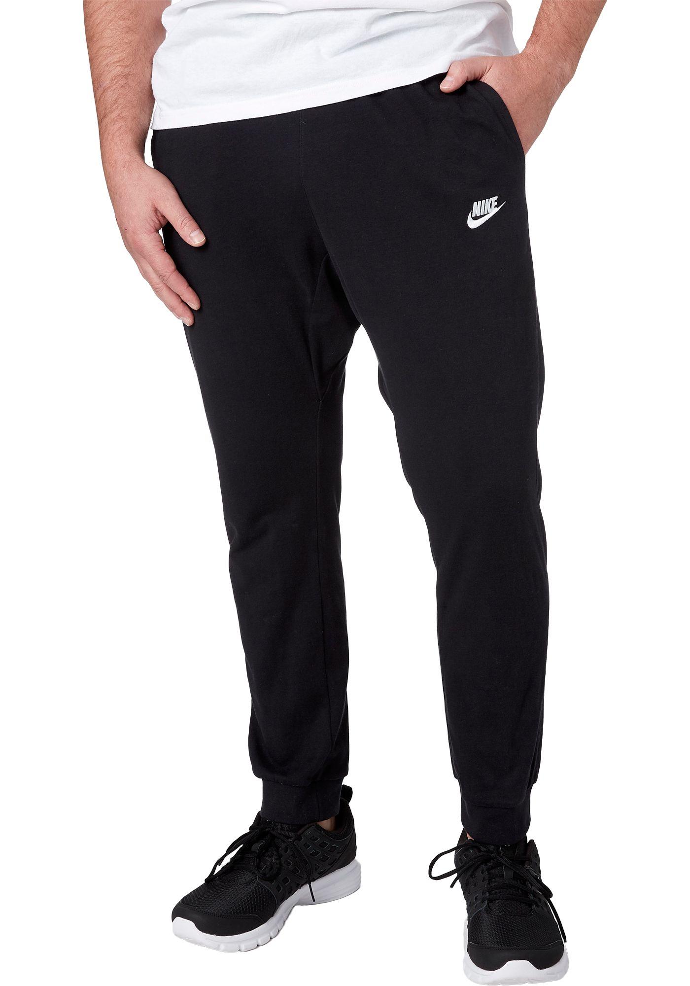 Nike Men's Jersey Lightweight Joggers