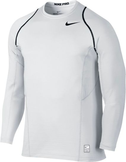 Nike Men s Pro Hyperwarm Fitted Long Sleeve Shirt  38f2a63dbb8
