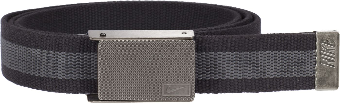 Nike Men's Rubber Inlay Reversible Web Golf Belt