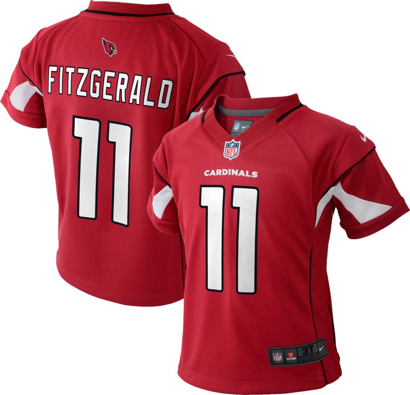 Nike Toddler Home Game Jersey Arizona Cardinals Larry Fitzgerald #11