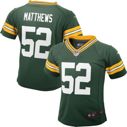 0e91b4932 Nike Toddler Home Game Jersey Green Bay Packers Clay Matthews  52.  noImageFound