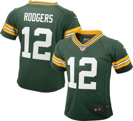 Nike Toddler Home Game Jersey Green Bay Packers Aaron Rodgers  12 ... e4e10cd0c