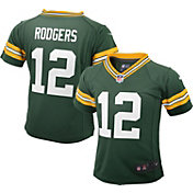 Nike Toddler Green Bay Packers Aaron Rodgers #12 Green Game Jersey