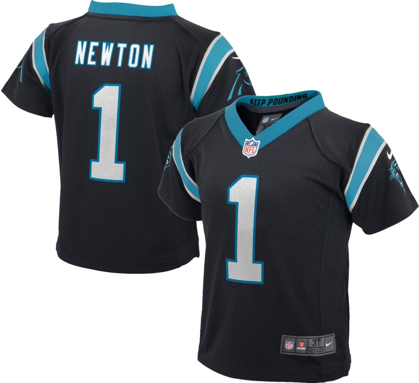 Nike Toddler Home Game Jersey Carolina Panthers Cam Newton #1
