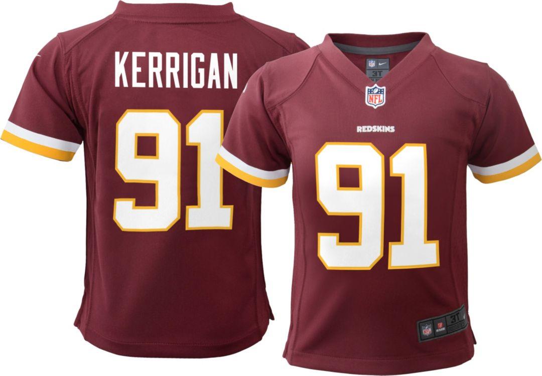 free shipping 75b13 ef5db Nike Toddler Home Game Jersey Washington Redskins Ryan Kerrigan #91
