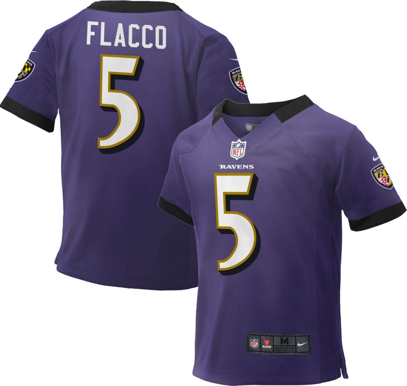 Nike Toddler Home Game Jersey Baltimore Ravens Joe Flacco #5
