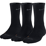 Nike Dri-FIT Cushion Crew Socks - 3 Pack
