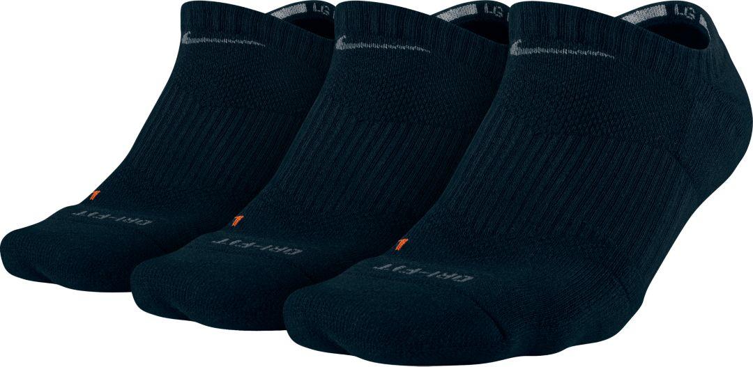 57d89cf8e Nike Dri-FIT Half Cushion No Show Socks 3 Pack