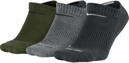 buy online 7ca52 f736c Nike Dri-FIT Half Cushion No Show Socks 3 Pack