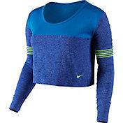 Nike Women's Dri-FIT Knit Epic Crew Long Sleeve Shirt