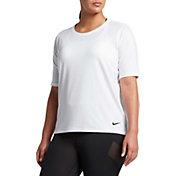 Nike Women's Plus Size Pro HyperCool T-Shirt