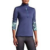 Nike Women's Pro Hyperwarm Half Zip Long Sleeve Shirt