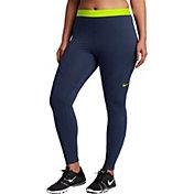 Nike Women's Plus Size Pro HyperWarm Tights