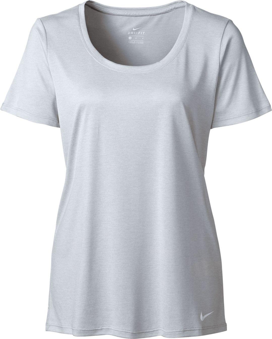 2cd4abe10 Nike Women's Dry Legend Scoop Veneer T-Shirt   DICK'S Sporting Goods